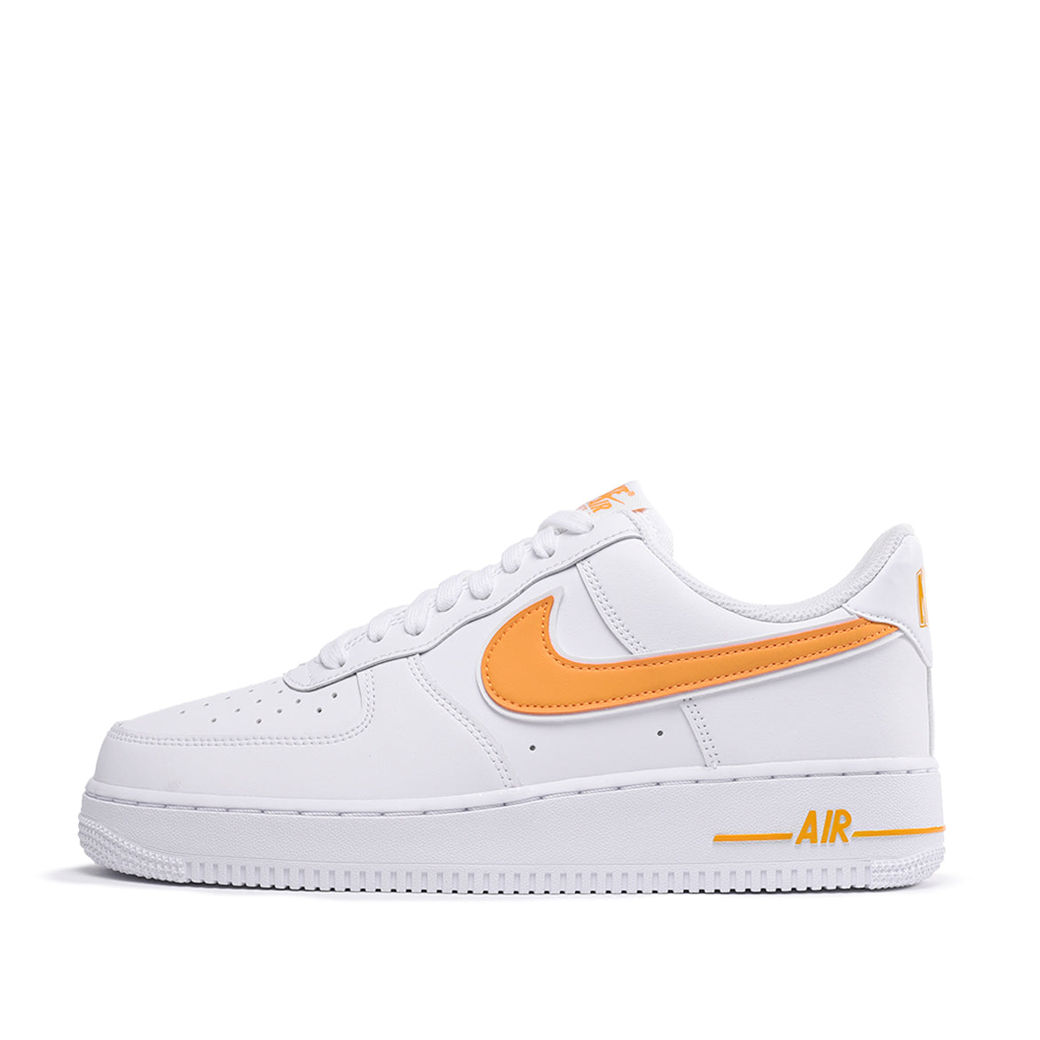 AIR FORCE 1 `07 3 WHITE UNIVERSITY GOLD