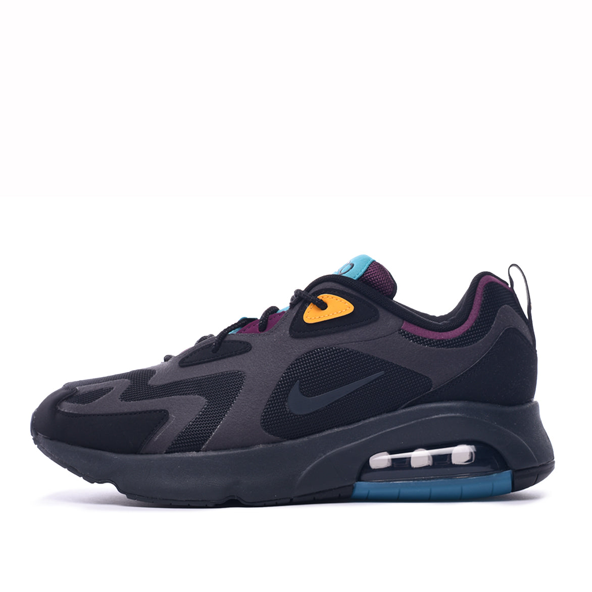 AIR MAX 200 - BLACK / ANTHRACITE / BORDEAUX