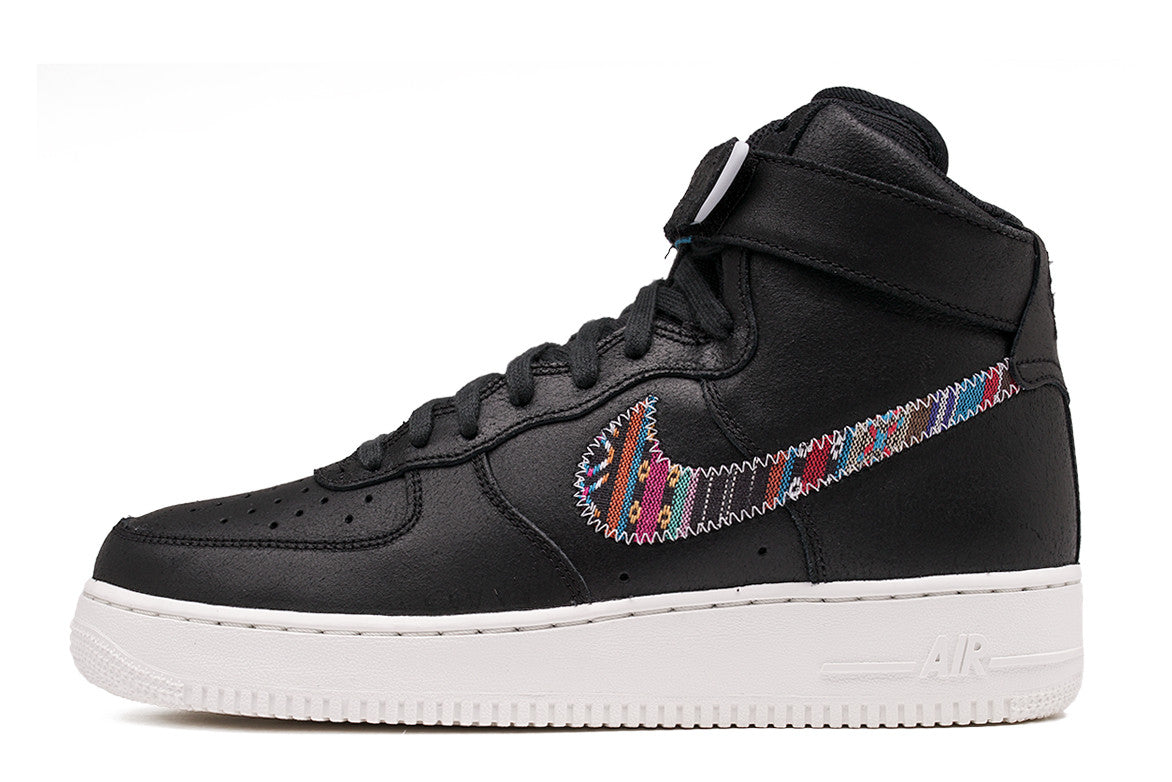 "AIR FORCE 1 HIGH `07 LV8 ""AFROPUNK PACK"" - BLACK / MULTI"
