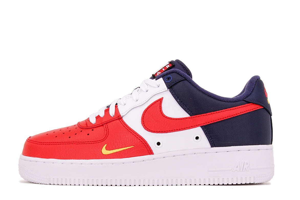 Nike NIKE air force 1 sneakers Lady's AIR FORCE 1 LOW GS INDEPENDENCE DAY PACK red red AR0688 600