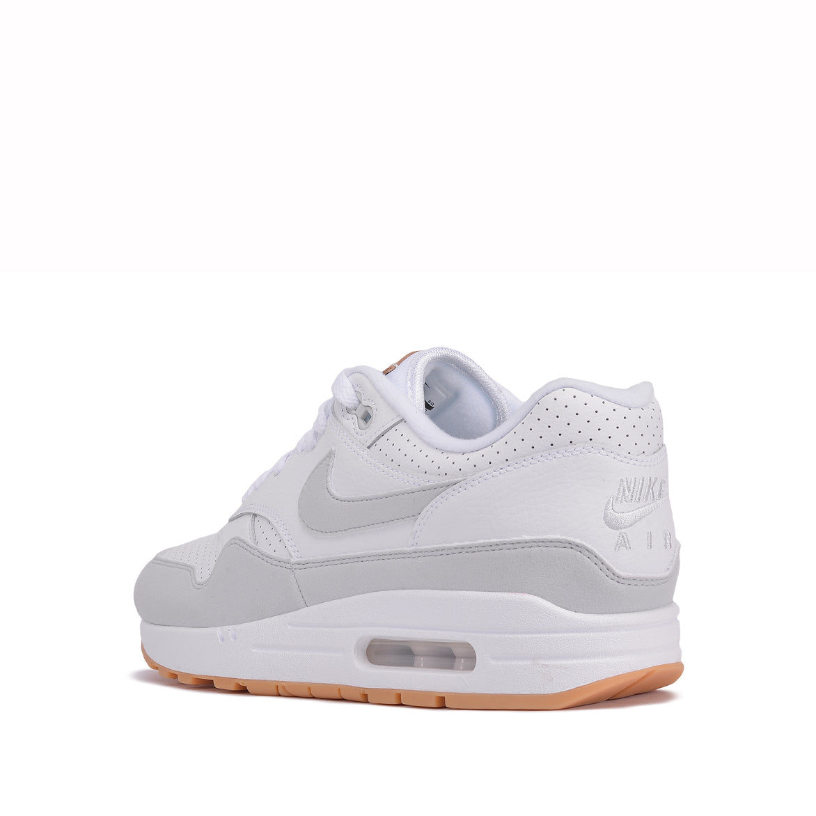 best website 5e6c6 11836 AIR MAX 1 - WHITE  PURE PLATINUM  GUM. NIKE