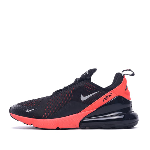 AIR MAX 270 - BLACK / METALLIC SILVER / BRIGHT CRIMSON