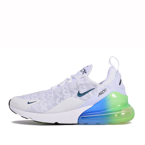 AIR MAX 270 SE - WHITE / WHITE / LIME BLAST