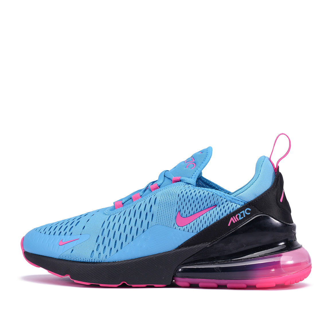 8d11e371d5 AIR MAX 270 - LIGHT BLUE FURY / LASER FUCHSIA | City Blue