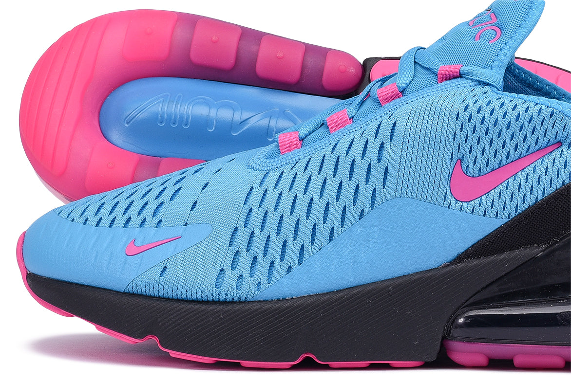 AIR MAX 270 - LIGHT BLUE FURY / LASER FUCHSIA