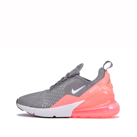 AIR MAX 270 (GS) - GUNSMOKE / LIGHT ATOMIC PINK