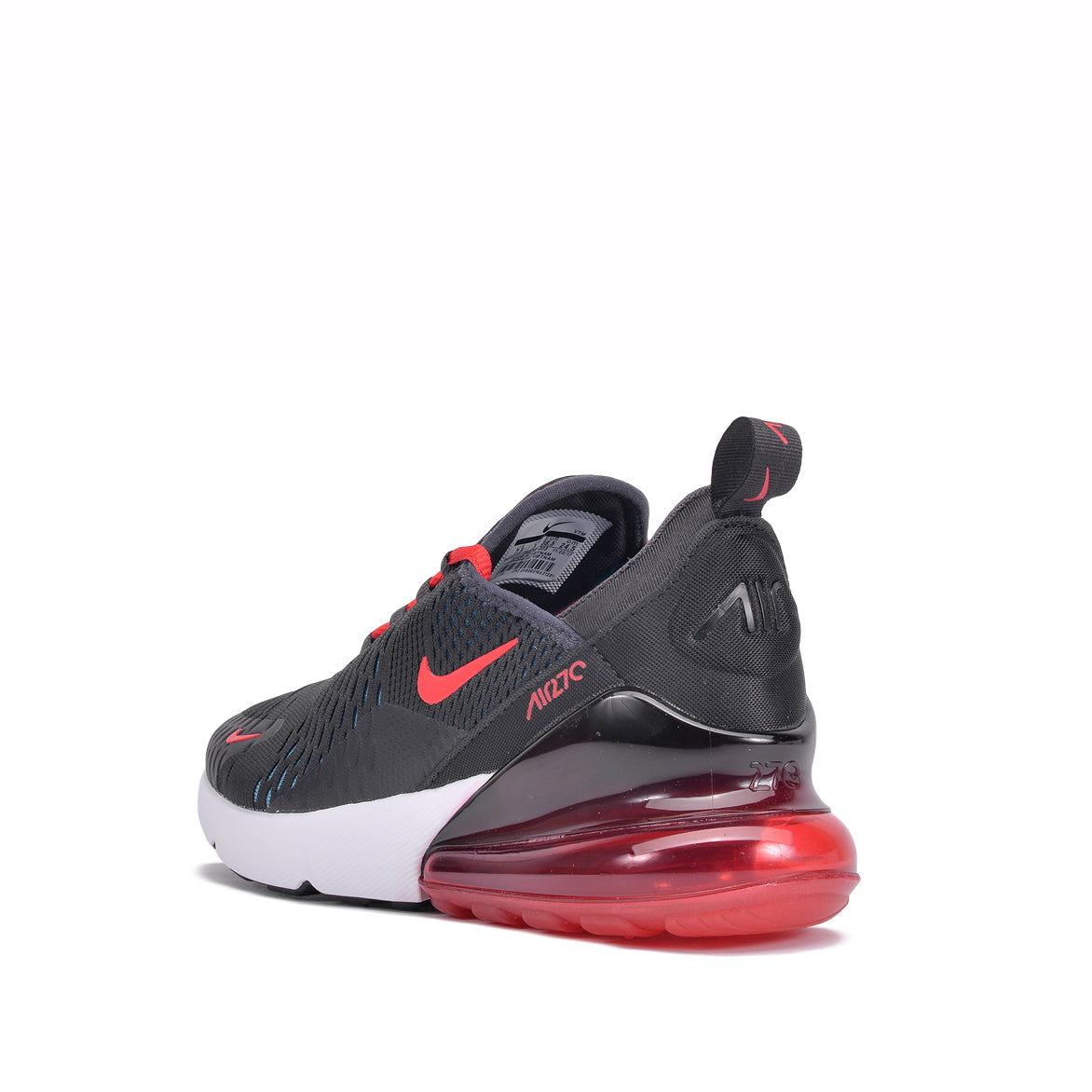 WMNS AIR MAX 270 - OIL GREY / SPEED RED