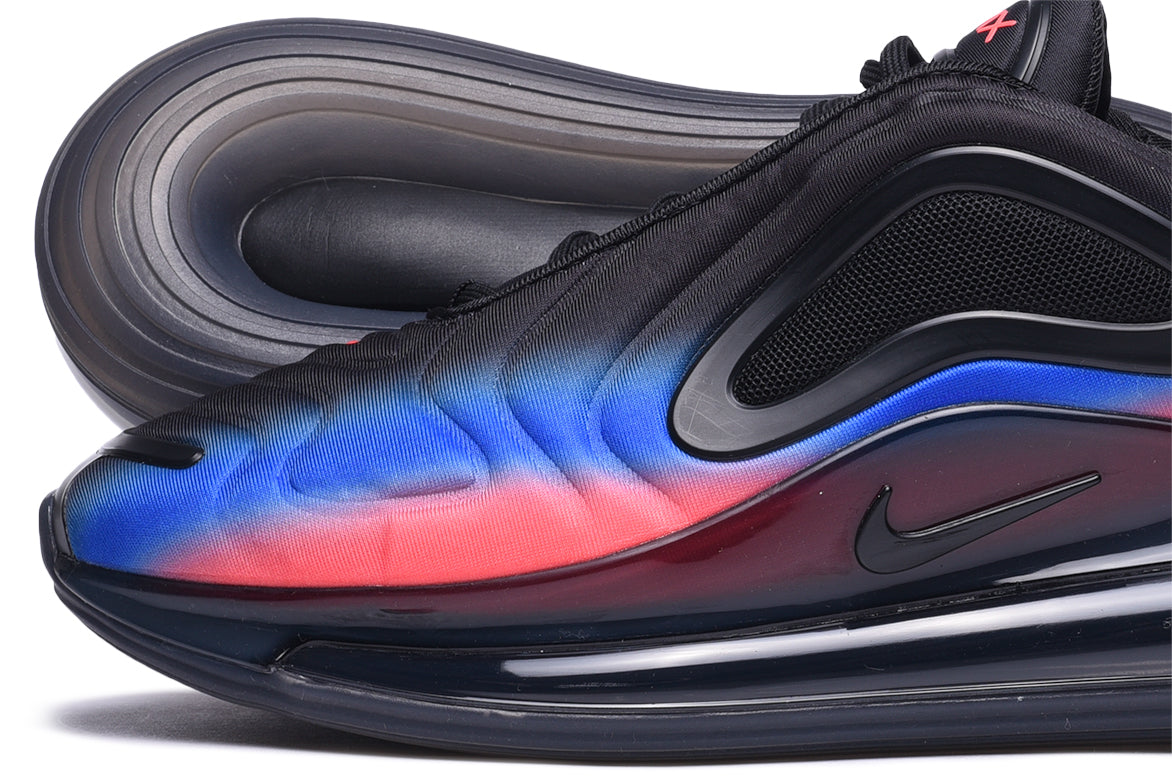 AIR MAX 720 - BLACK / RACER BLUE / FLASH CRIMSON