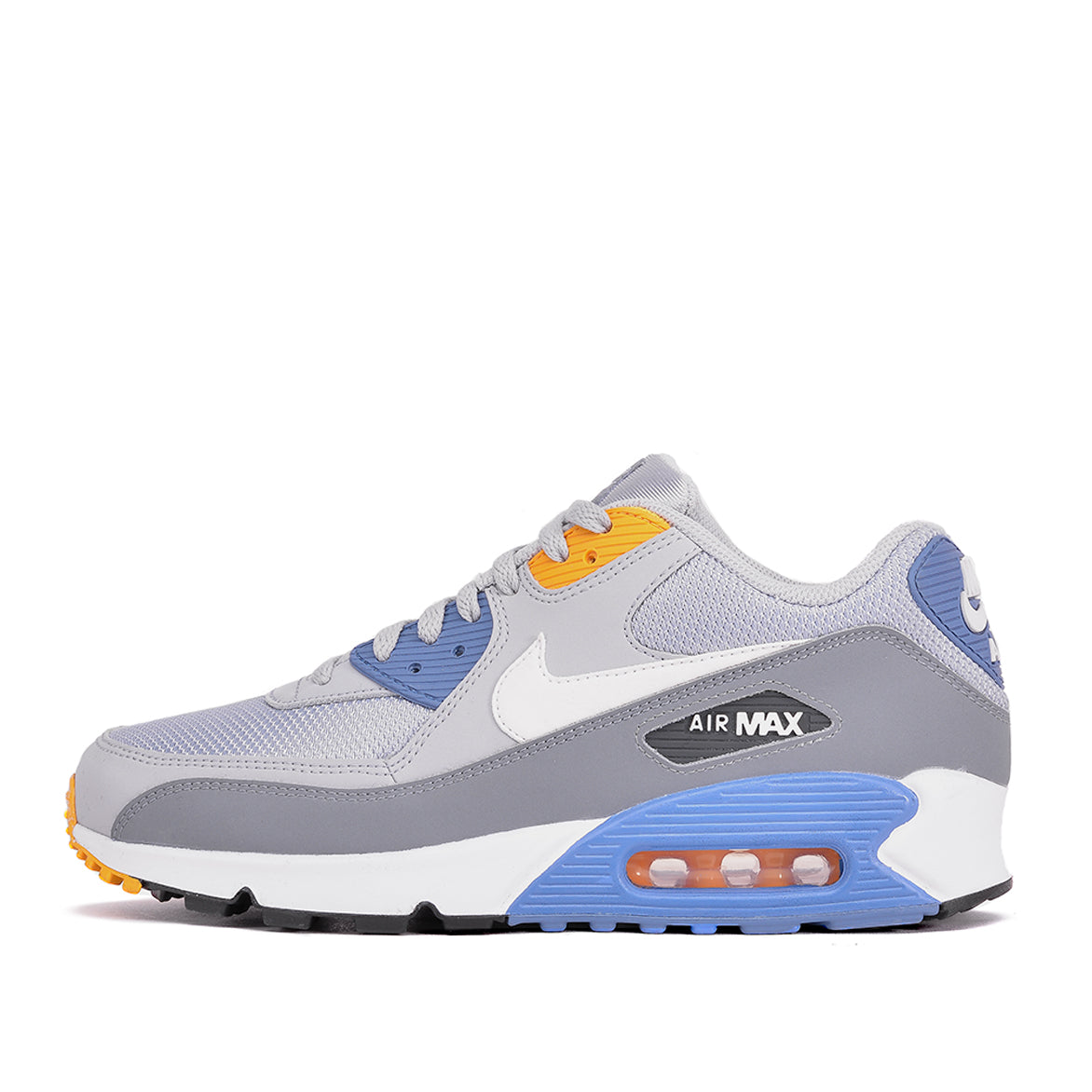 Nike Air max 90 leather wolf grey white indigo storm grey