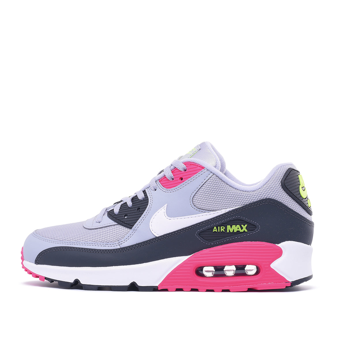 best website 477e7 f3913 AIR MAX 90 ESSENTIAL - WOLF GREY   WHITE   RUSH PINK   City Blue