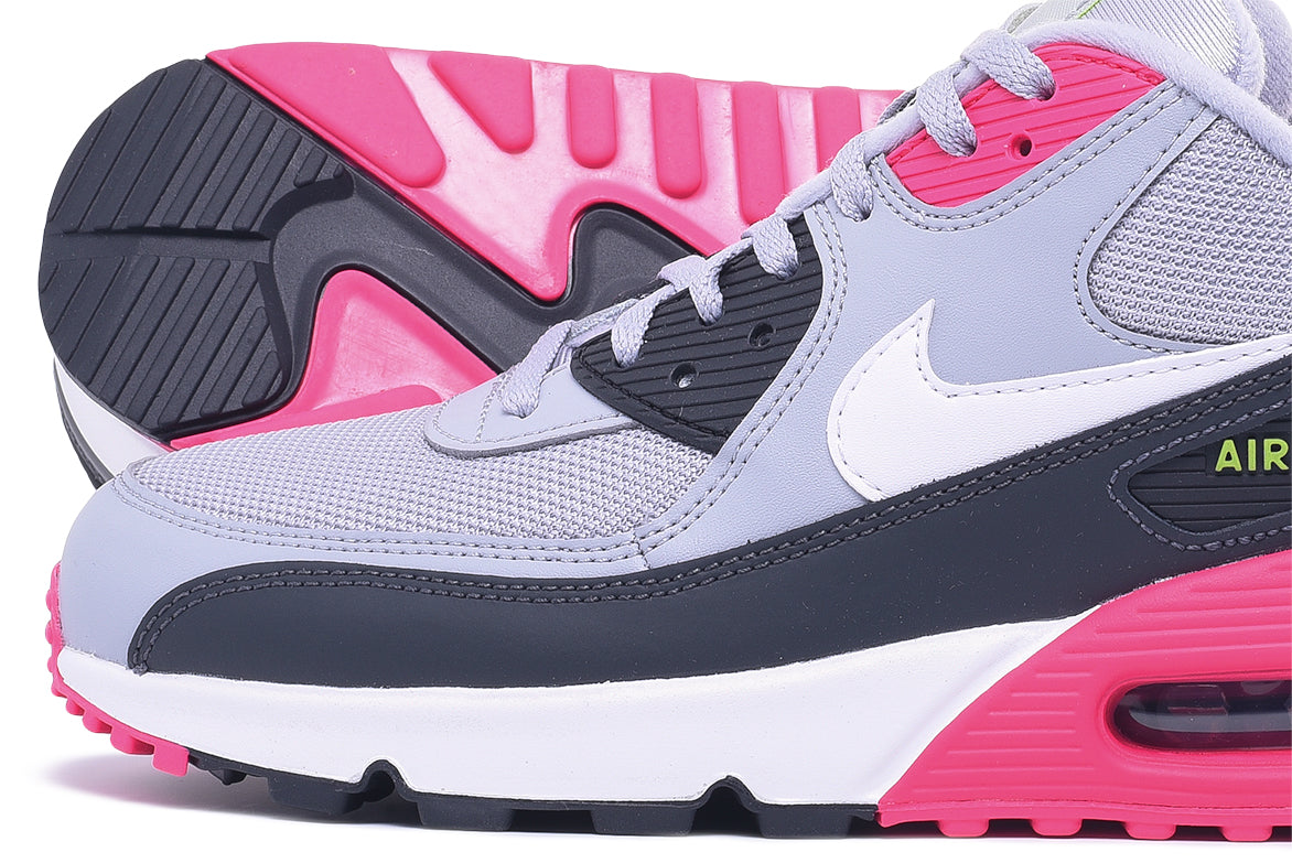 AIR MAX 90 ESSENTIAL - WOLF GREY / WHITE / RUSH PINK