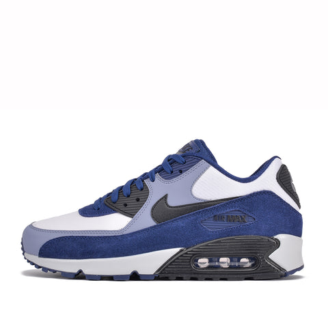 AIR MAX 90 LEATHER - BLUE VOID / ASHEN SLATE