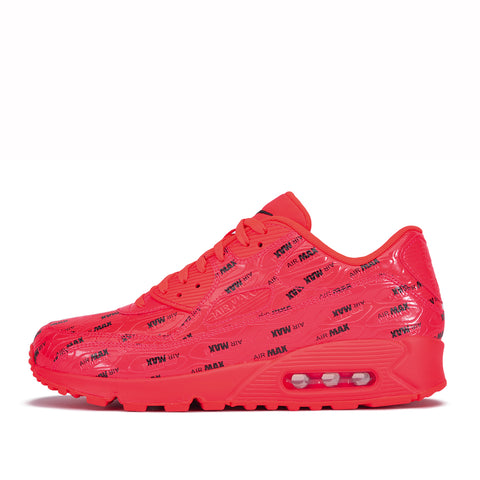 "AIR MAX 90 PRM ""AIR MAX PRINT"" - BRIGHT CRIMSON"