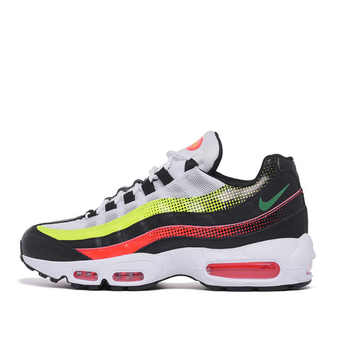 AIR MAX 95 SE - BLACK / BRIGHT CRIMSON / VOLT