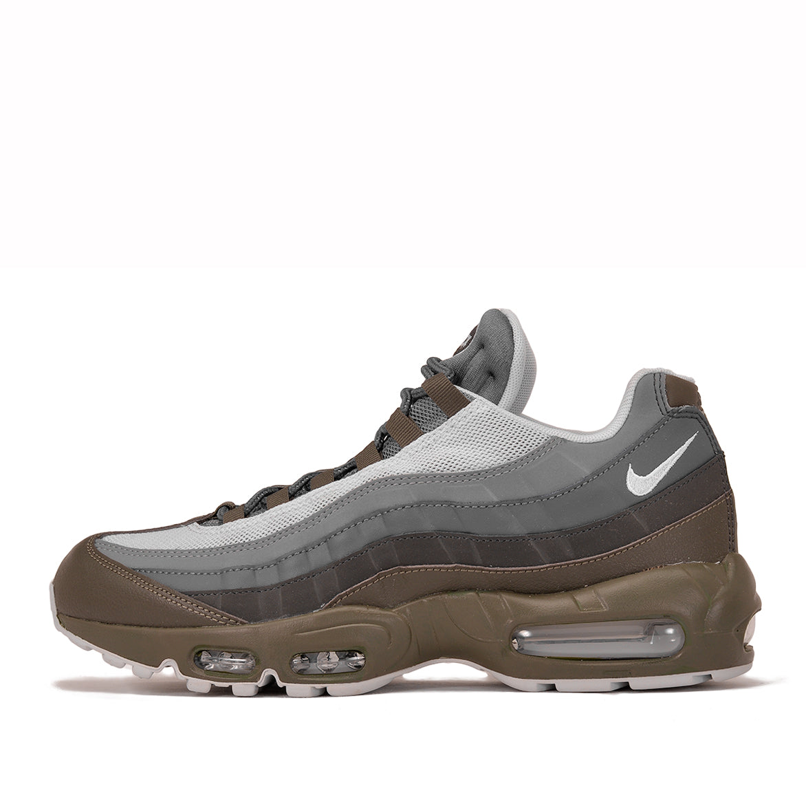 NIKE AIR MAX 95 ESSENTIAL - CARGO KHAKI / PURE PLATINUM ...