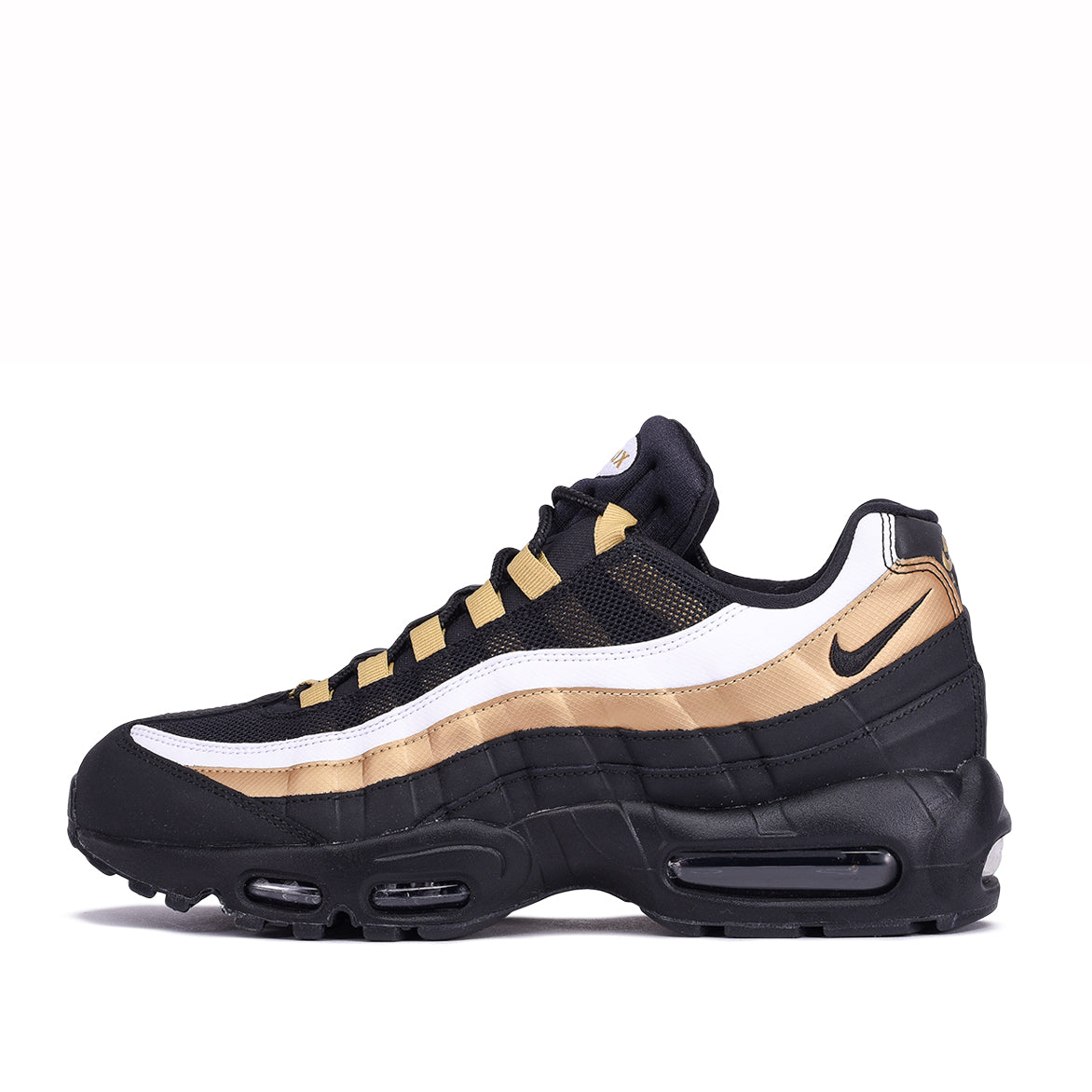new concept c2192 a658d AIR MAX 95 OG - BLACK / METALLIC GOLD | City Blue