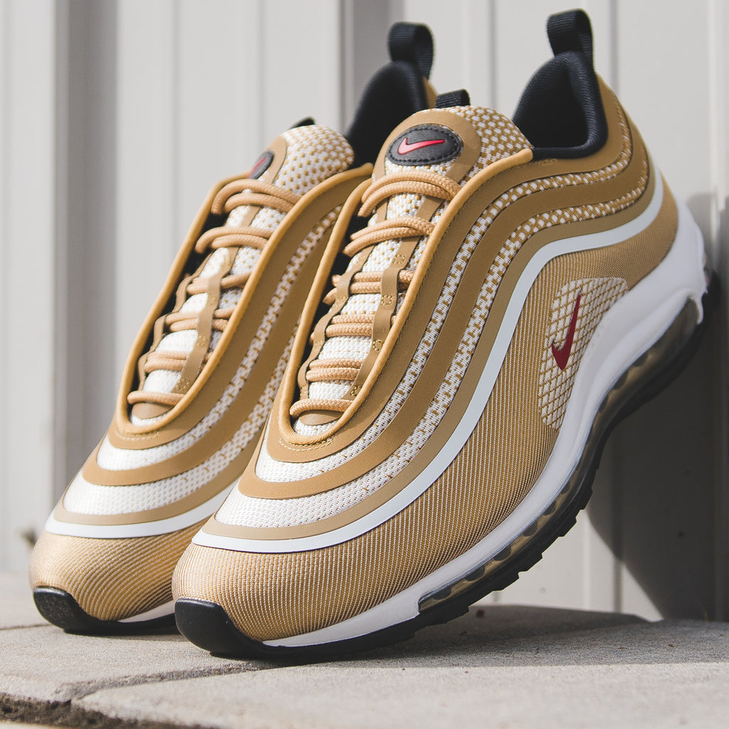 nike air max 97 blue gold
