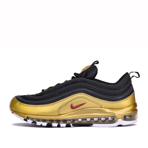 "AIR MAX 97 QS ""METALLIC GOLD"" - BLACK / METALLIC GOLD"