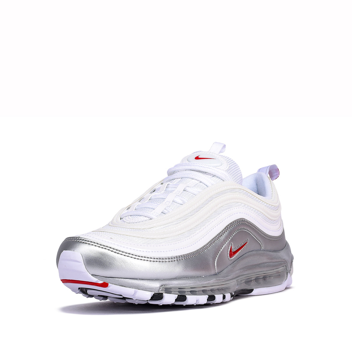 "AIR MAX 97 QS ""METALLIC PACK"" - WHITE / METALLIC SILVER"
