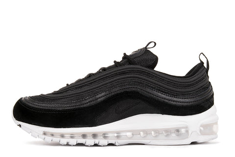 AIR MAX 97 - BLACK SUEDE / WHITE