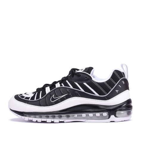 AIR MAX 98 - BLACK / WHITE