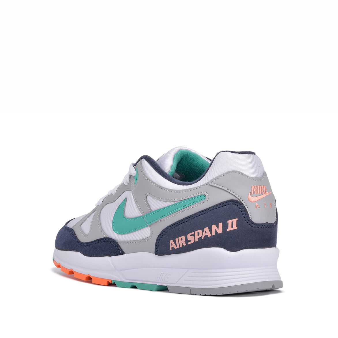 AIR SPAN II - WOLF GREY / KINETIC GREEN