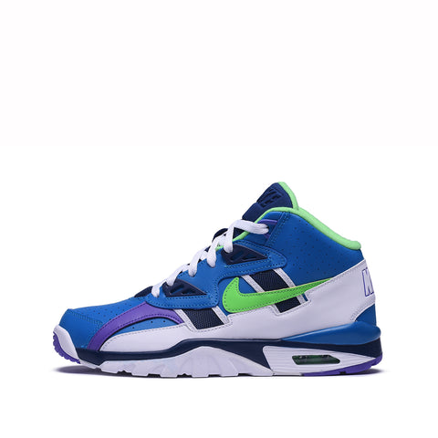 AIR TRAINER SC (GS) - IMPERIAL BLUE / SCREAM GREEN