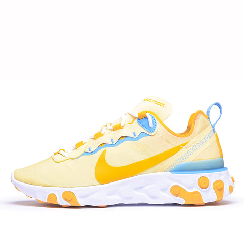WMNS REACT ELEMENT 55 - BICYCLE YELLOW / DARK SULFUR