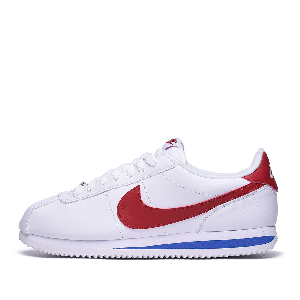 CORTEZ BASIC LEATHER - WHITE / VARSITY RED / GAME ROYAL
