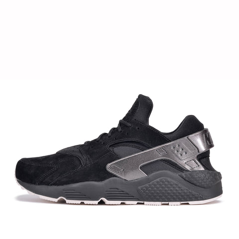 AIR HUARACHE RUN PRM - BLACK / METALLIC BLACK