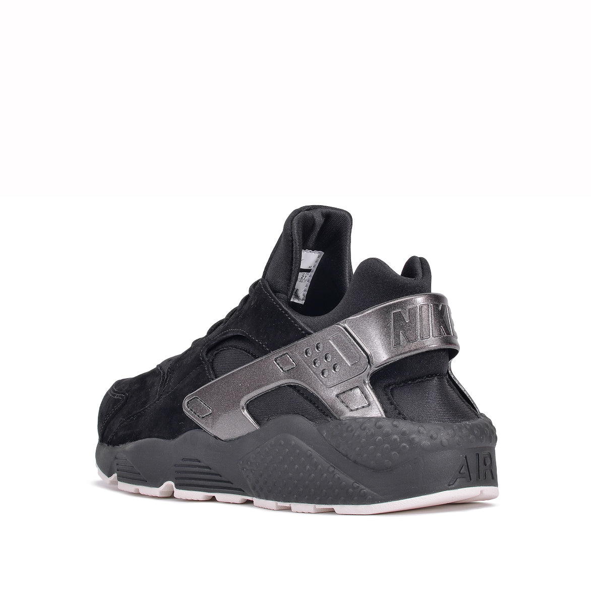 d07e822ef719 ... AIR HUARACHE RUN PRM - BLACK   METALLIC BLACK ...