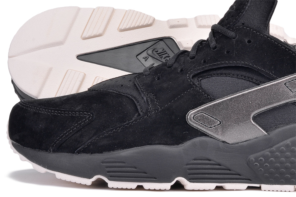 cfe6f6f58c33 ... AIR HUARACHE RUN PRM - BLACK   METALLIC BLACK