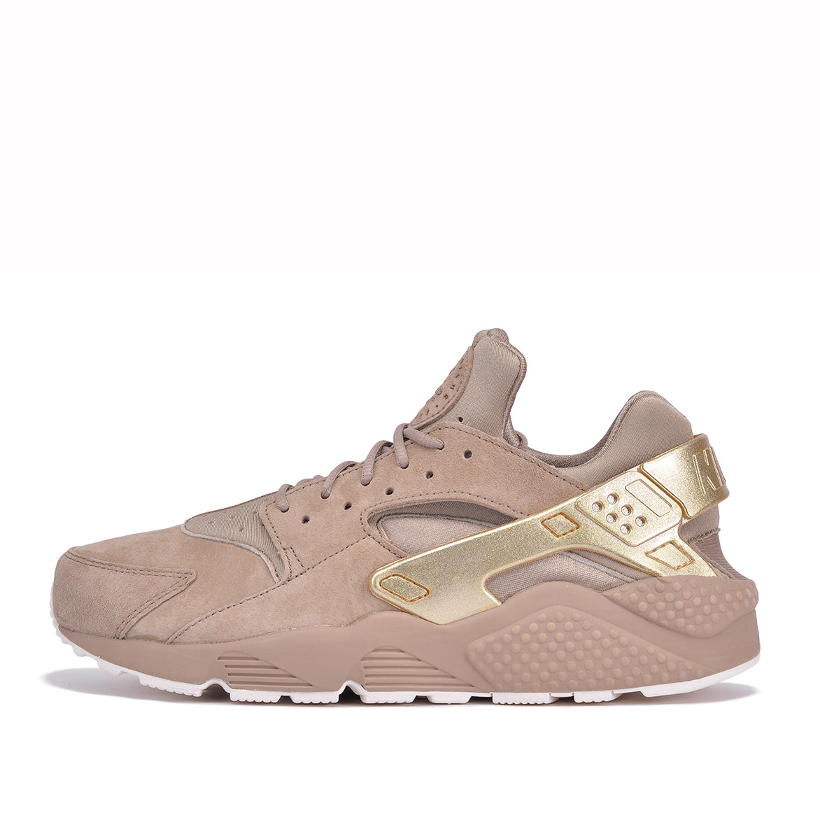 4bc45c5e1027 AIR HUARACHE RUN PRM - KHAKI   METALLIC GOLD COIN
