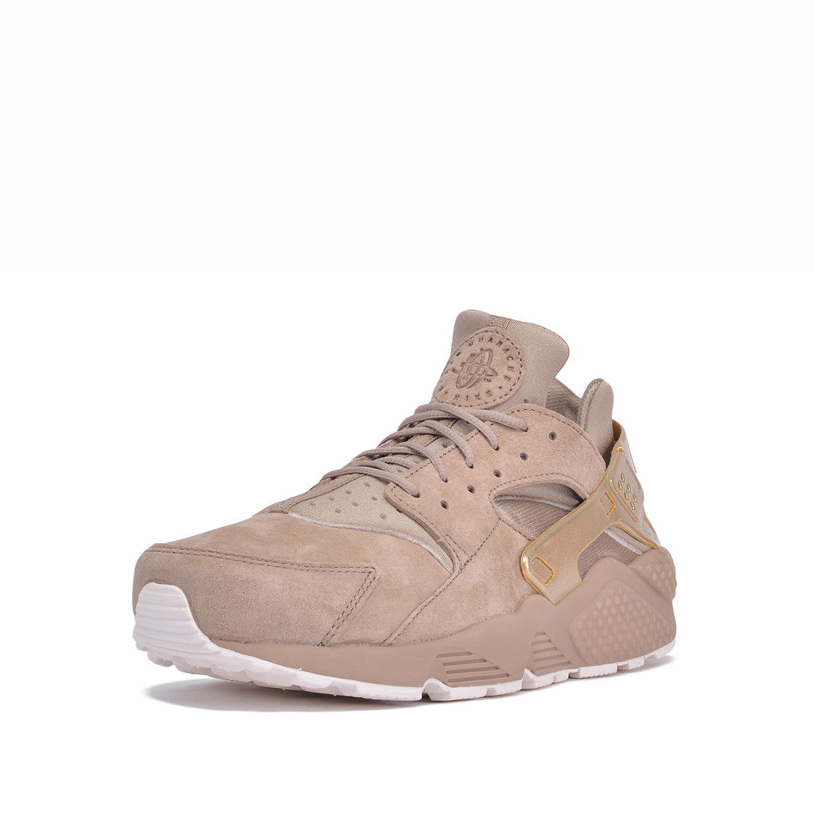 AIR HUARACHE RUN PRM - KHAKI / METALLIC GOLD COIN