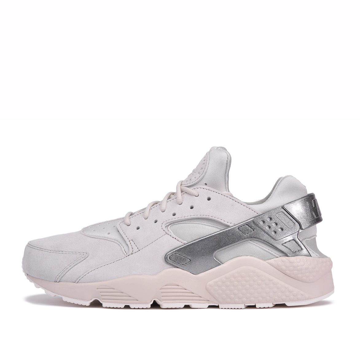 d37b1bad3c1a AIR HUARACHE RUN PRM - LIGHT BONE   METALLIC COOL GREY