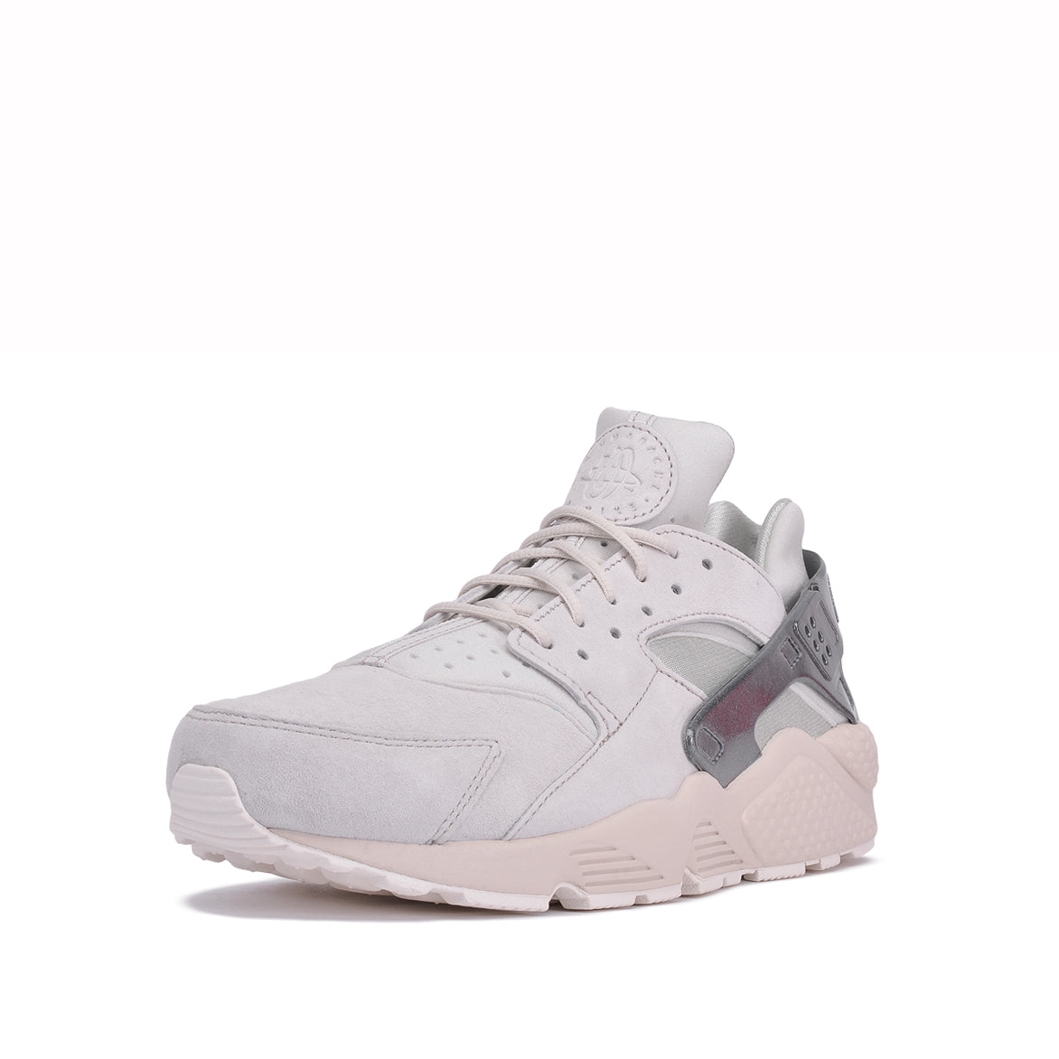 AIR HUARACHE RUN PRM - LIGHT BONE / METALLIC COOL GREY