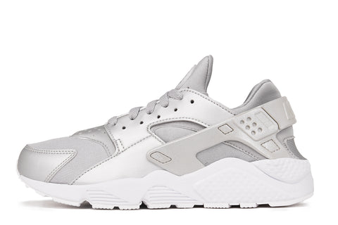 NIKE AIR HUARACHE RUN PRM - METALLIC SILVER