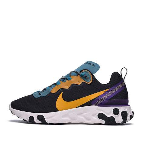 REACT ELEMENT 55 PRM - BLACK / POLLEN RISE / MINERAL TEAL