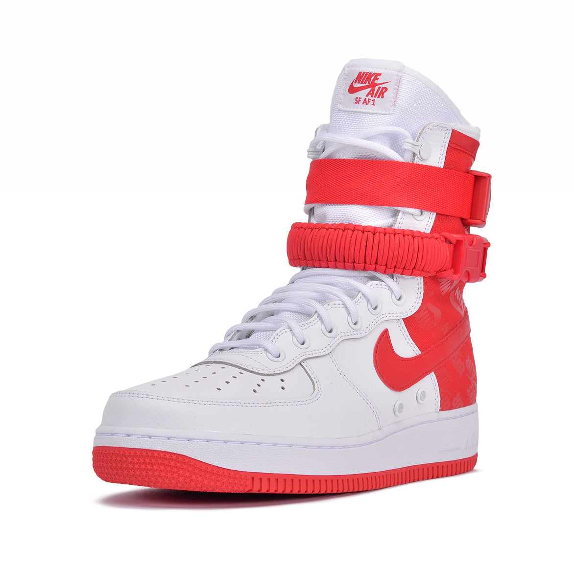 SF AF1 - WHITE / UNIVERSITY RED