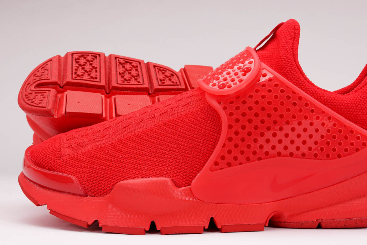 SOCK DART KJCRD - UNIVERSITY RED