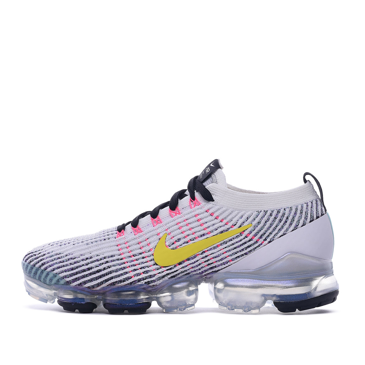 online store f4934 653be AIR VAPORMAX FLYKINT 3 - WHITE / DYNAMIC YELLOW / PINK BLAST