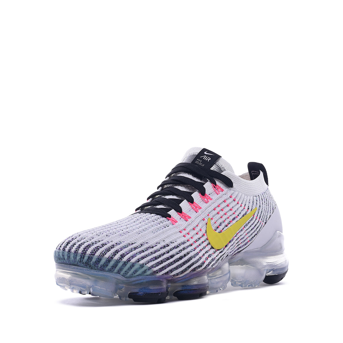 AIR VAPORMAX FLYKINT 3 - WHITE / DYNAMIC YELLOW / PINK BLAST