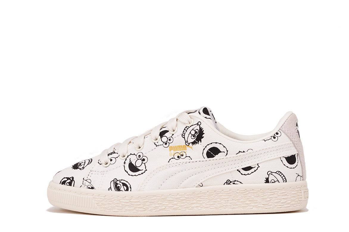 PUMA x SESAME STREET BASKET (PS) - WHITE