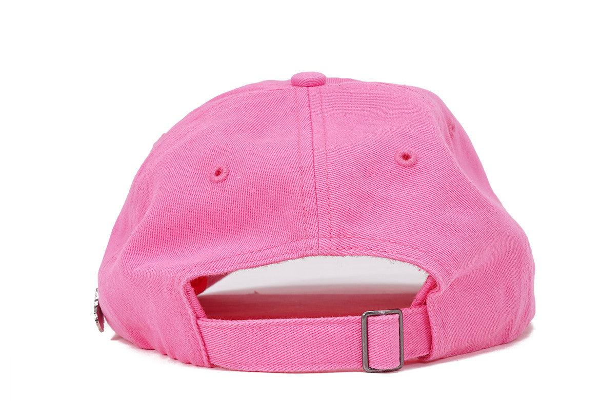 PABLO & FRIENDS DAD HAT W/ PIN - PINK / PINK