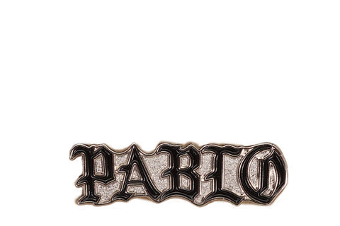 PABLO PIN - BLACK / METALLIC SILVER