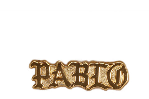 PABLO PIN - METALLIC GOLD