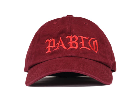 PABLO & FRIENDS DAD HAT - PABLO BURGUNDY