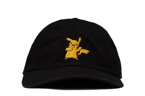 """PIKACHU"" DAD HAT - BLACK"
