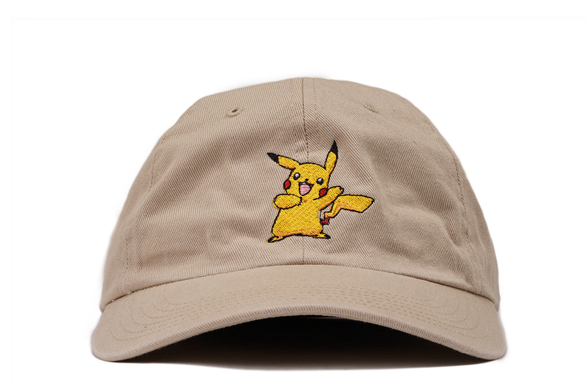 """PIKACHU"" DAD HAT - TAN"