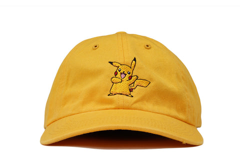 """PIKACHU"" DAD HAT - YELLOW"